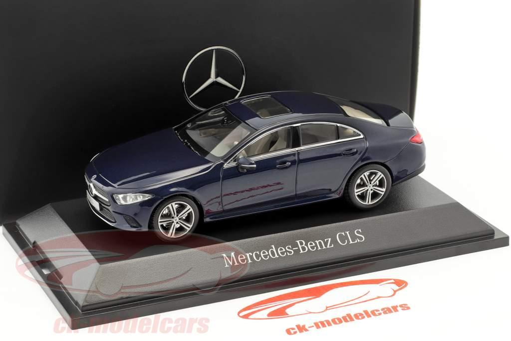 Mercedes-Benz CLS Coupe (C257) Baujahr 2018 cavansitblau metallic 1:43 Norev