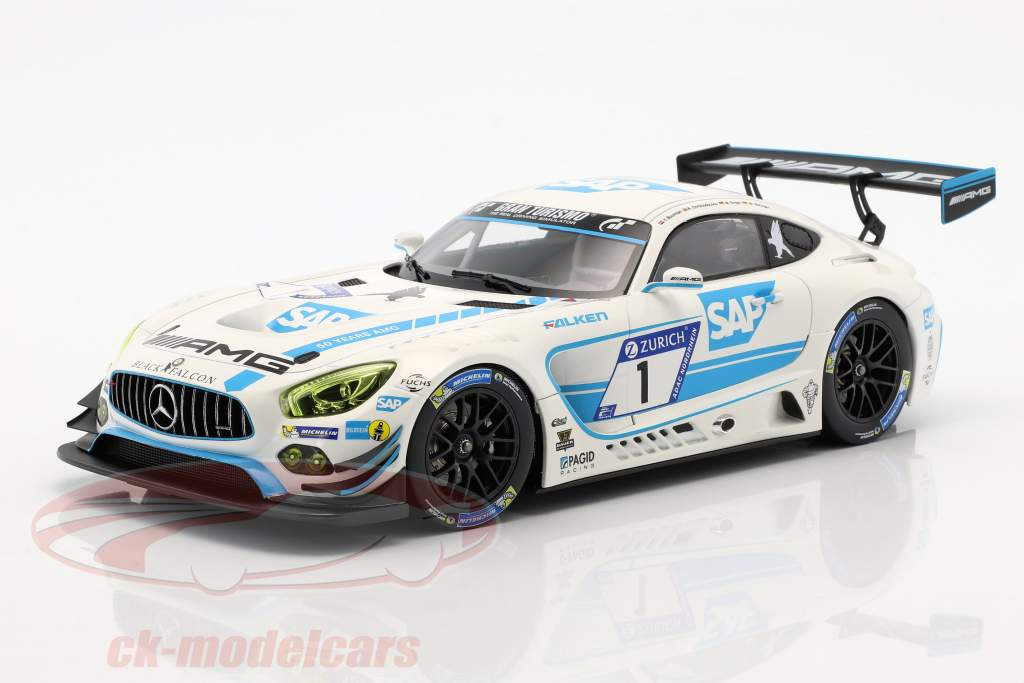 Mercedes-Benz AMG GT3 #1 5 ° 24h Nürburgring 2017 Team Black Falcon 1:18 Norev