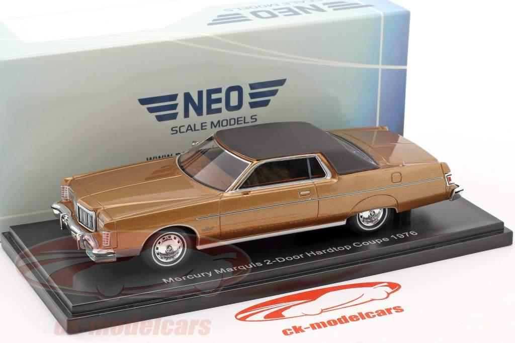 Mercury Marquis 2-Türer Hardtop Coupe year 1976 brown metallic 1:43 Neo
