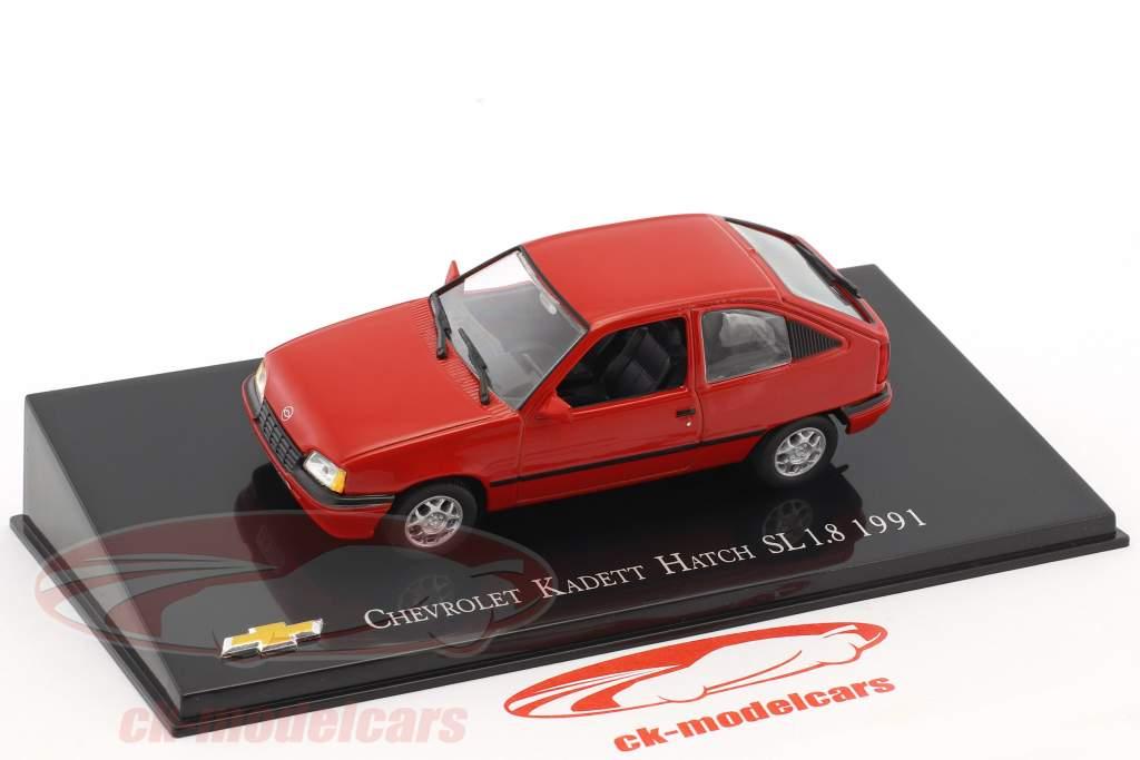 Chevrolet Kadett Hatch SL 1.8 année de construction 1991 rouge 1:43 Altaya
