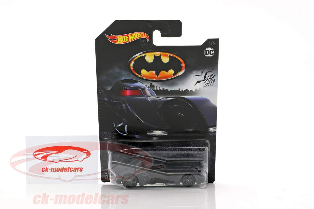 Batmobile DC Comics gray 1:64 HotWheels