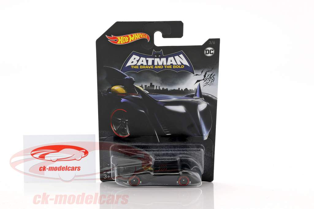 Batmobile DC Comics The Brave and the Bold schwarz 1:64 HotWheels