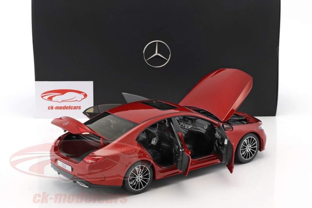 Mercedes-Benz CLS-Class Coupe C257 designo hyazinthrot metallisk 1:18 Norev