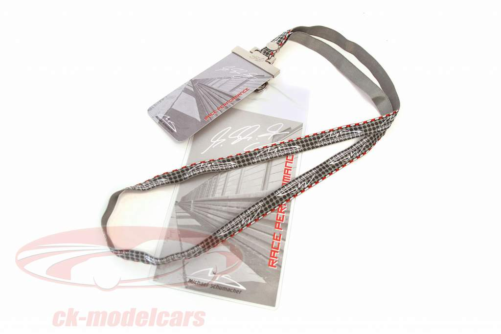 Michael Schumacher Lanyard silver / gray