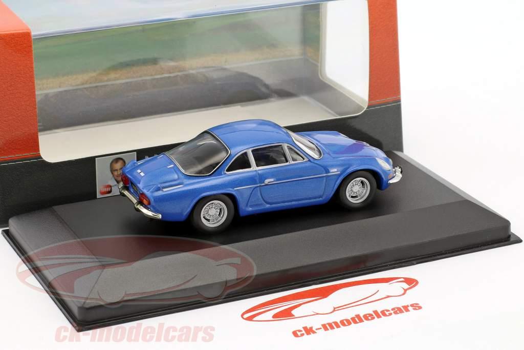 Alpine A110 1300S year 1971 blue 1:43 Atlas