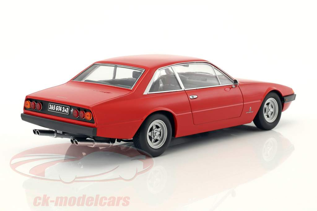 Ferrari 365 GT4 2+2 Baujahr 1972 rot 1:18 KK-Scale