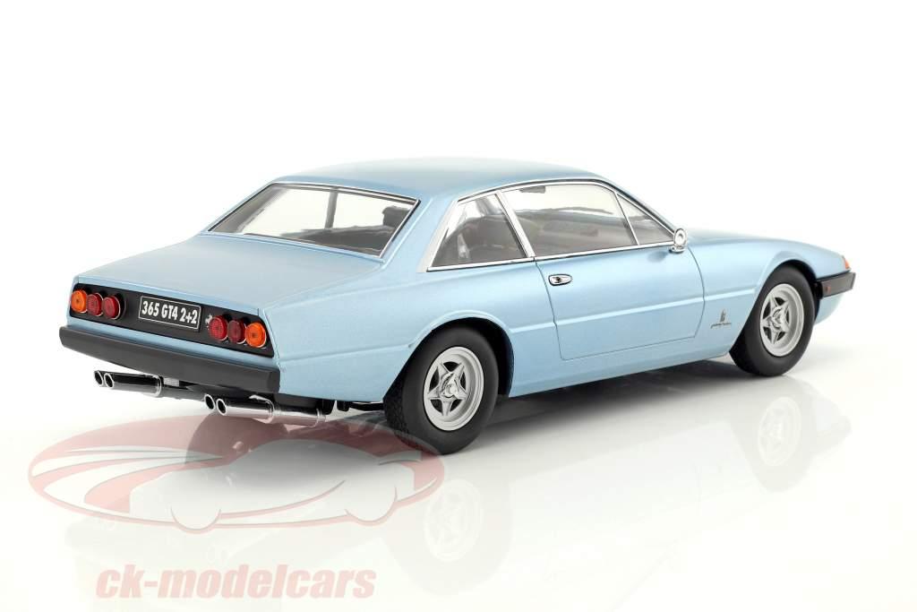 Ferrari 365 GT4 2+2 Baujahr 1972 hellblau metallic 1:18 KK-Scale