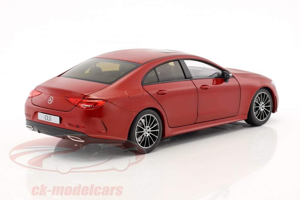 Mercedes-Benz CLS-Classe Coupe C257 designo hyazinthrot metálico 1:18 Norev