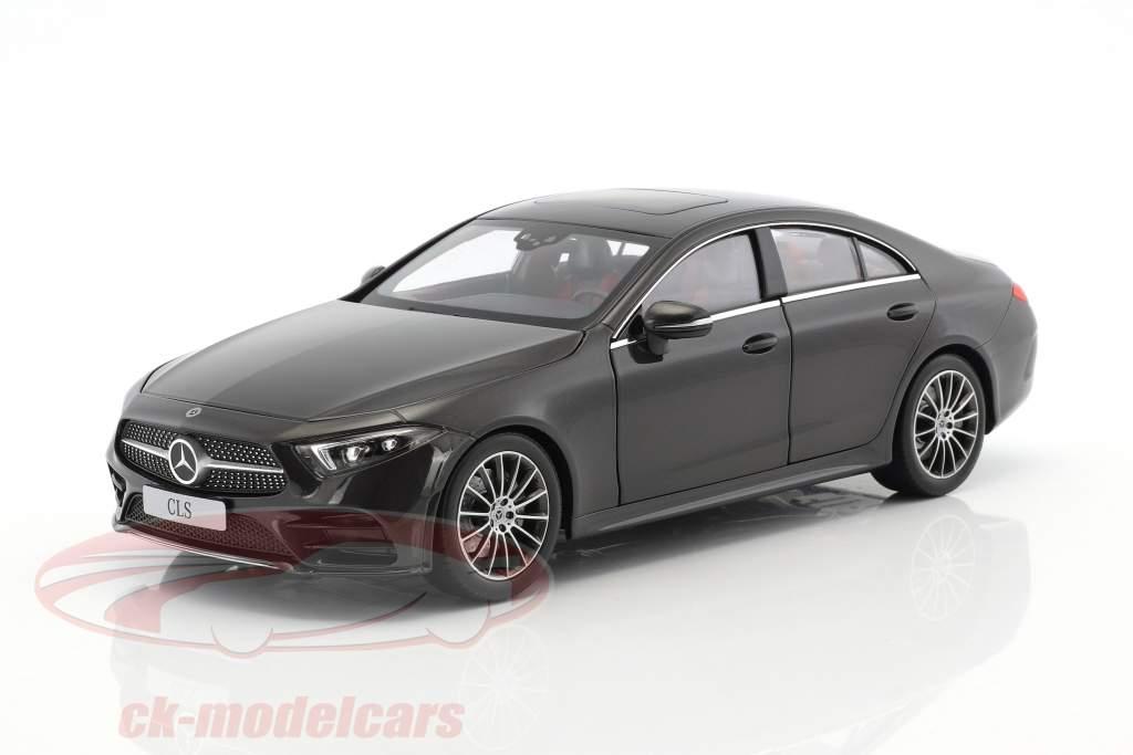 Mercedes-Benz Classe CLS Coupe C257 grafite grigio metallico 1:18 Norev