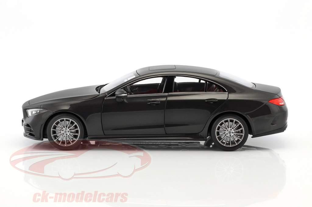 Mercedes-Benz CLS-Klasse Coupe C257 graphit grau metallic 1:18 Norev