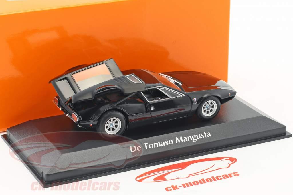 De Tomaso Mangusta Construction year 1967 black 1:43 Minichamps
