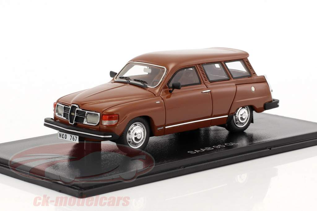 Saab 95 GL marrone 1:43 Neo