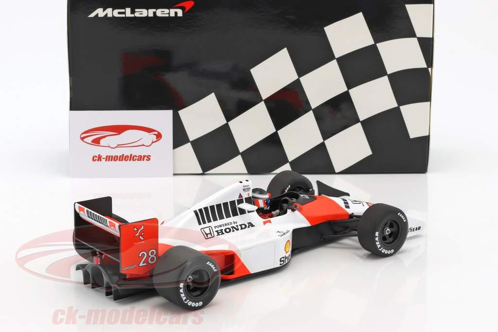 Gerhard Berger McLaren MP4/5B #28 Formel 1 1990 1:18 Minichamps