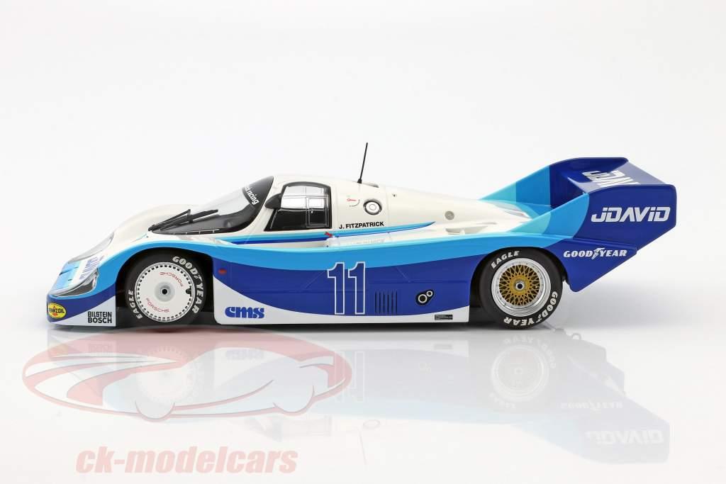 Porsche 956K #11 segundo DRM Bergischer Löwe Zolder 1983 John Fitzpatrick 1:18 Minichamps
