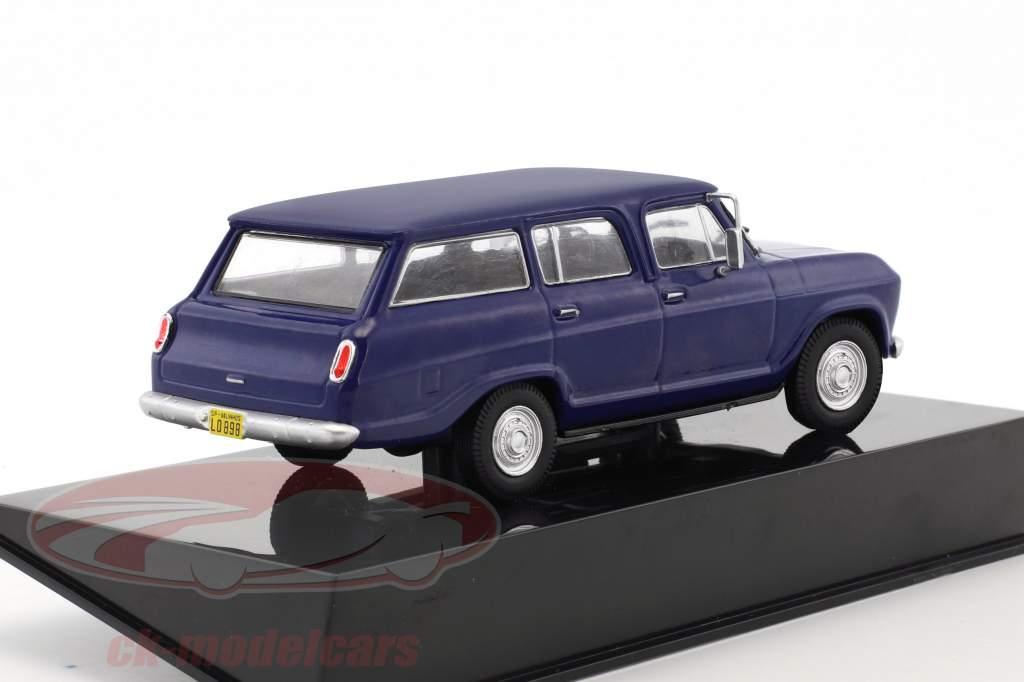 Chevrolet Veraneio year 1987 blue 1:43 Altaya