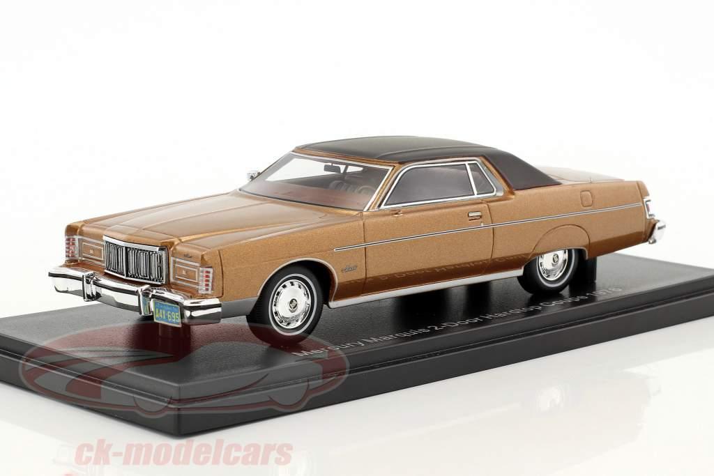 Mercury Marquis 2-Türer Hardtop Coupe année 1976 brun métallique 1:43 Neo