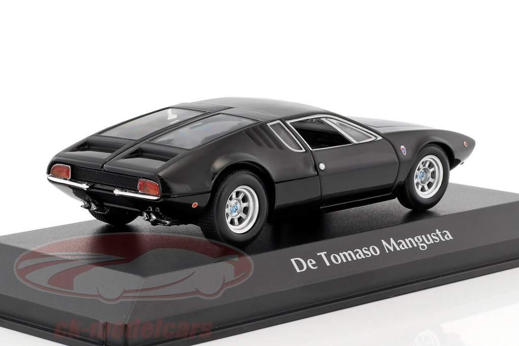 De Tomaso Mangusta Baujahr 1967 schwarz 1:43 Minichamps