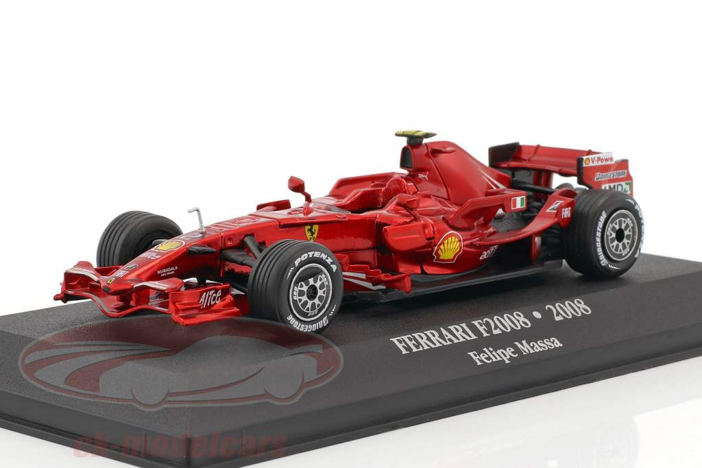 Felipe Massa Ferrari F2008 #2 2nd formula 1 2008 1:43 Atlas