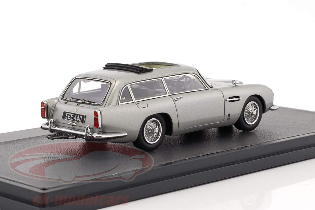 Aston Martin DB5 Shooting Brake Harold Radford year 1964 silver metallic 1:43 Matrix