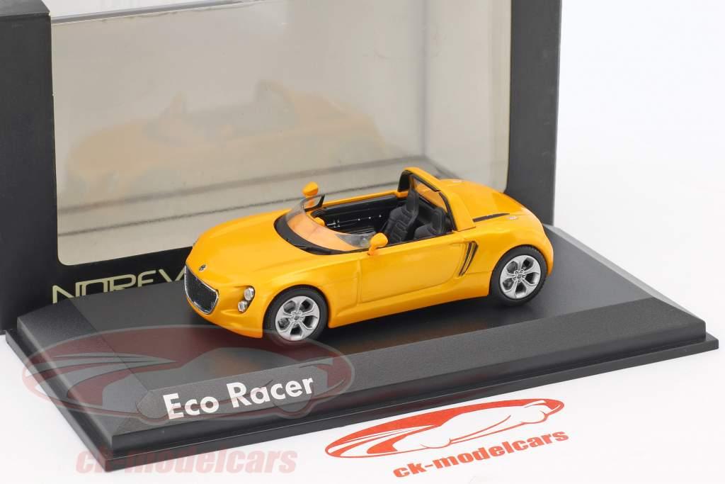 Volkswagen VW Eco Racer Concept Car year 2005 ocher yellow metallic 1:43 Norev
