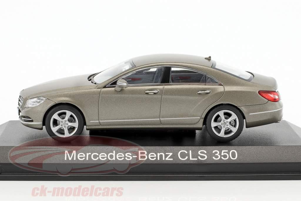 Mercedes-Benz CLS 350 CGI anno di costruzione 2010 grigio metallico 1:43 Norev