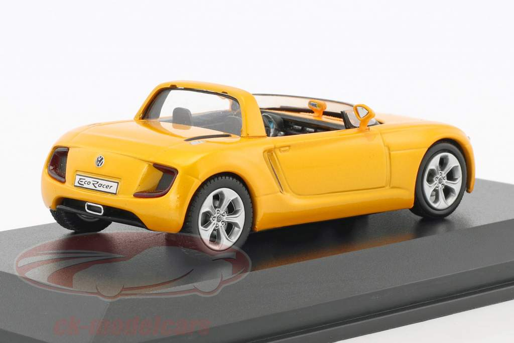 Volkswagen VW Eco Racer Concept Car anno di costruzione 2005 ocra giallo metallico 1:43 Norev
