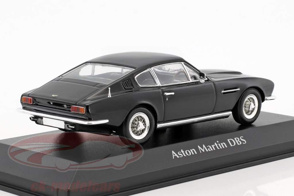 Aston Martin DBS year 1967 black 1:43 Minichamps