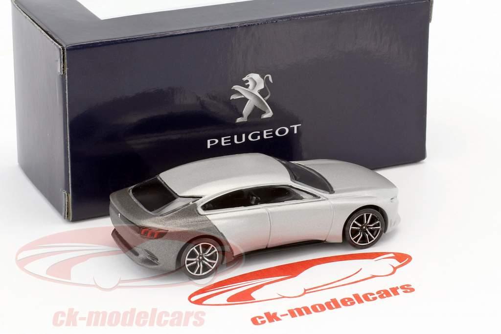 Peugeot Exalt Concept Car Salon de Paris 2014 silber metallic / grau metallic 1:64 Norev