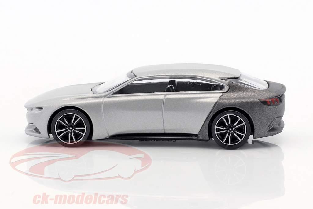 Peugeot Exalt Concept Car Salon de Paris 2014 argento metallico / grigio metallico 1:64 Norev