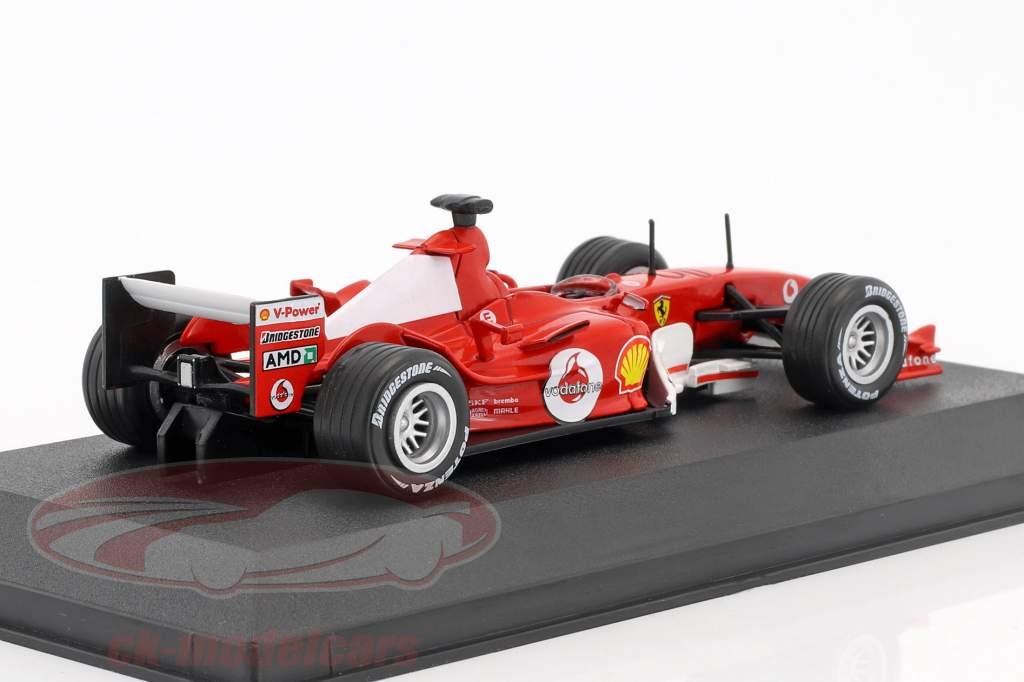 Michael Schumacher Ferrari F2004 #1 World Champion F1 2004 with showcase 1:43 Atlas