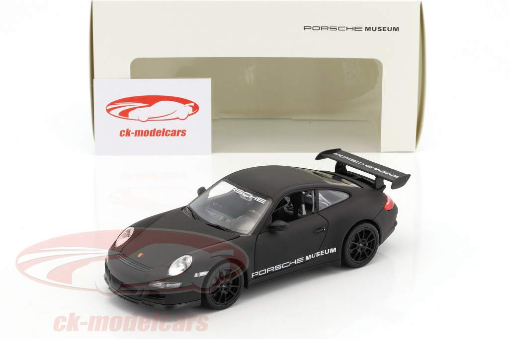 Porsche 911 (997) GT3 RS tappetino nero 1:24 Welly