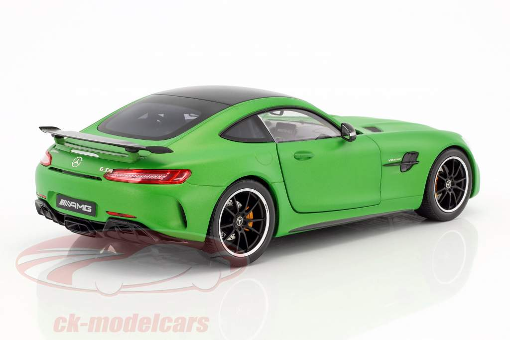 Mercedes-Benz AMG GT R Coupe stuoia verde 1:18 Norev