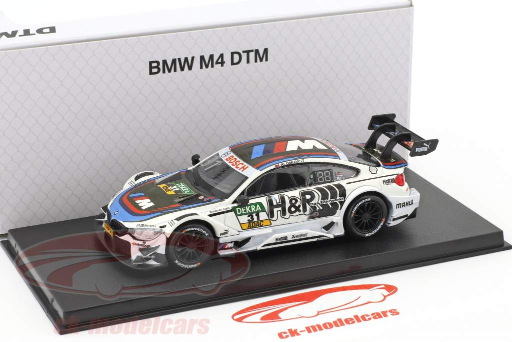 BMW M4 DTM #31 DTM 2017 Tom Blomqvist BMW Team RBM 1:43 RMZ