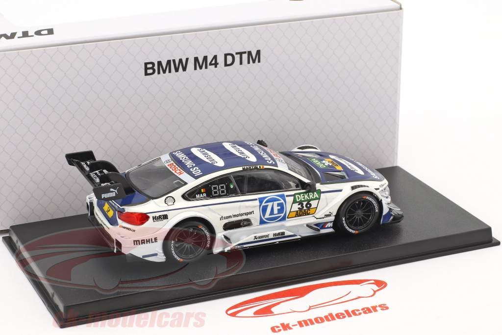 BMW M4 DTM #36 DTM 2017 Maxime Martin BMW Team RBM 1:43 Herpa