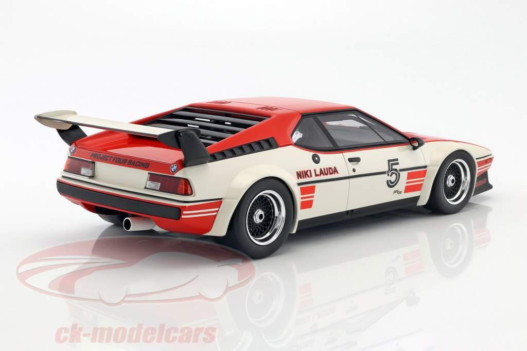Niki Lauda BMW M1 Procar #5 ganador BMW M1 Procar Series 1979 1:12 CMR