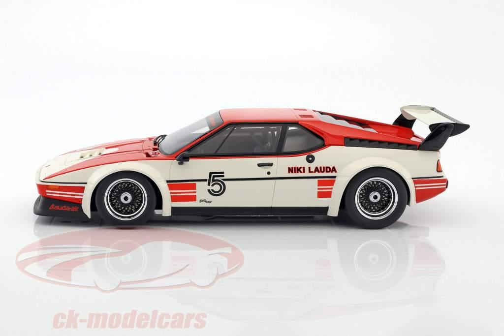 Niki Lauda BMW M1 Procar #5 vencedor BMW M1 Procar Series 1979 1:12 CMR