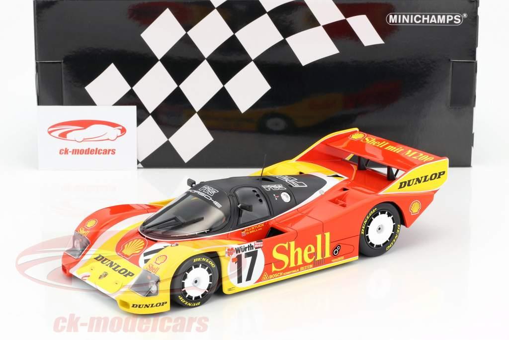 Porsche 962C #17 3rd 200 Miles of Nuremberg 1987 Stuck, Bell 1:18 Minichamps