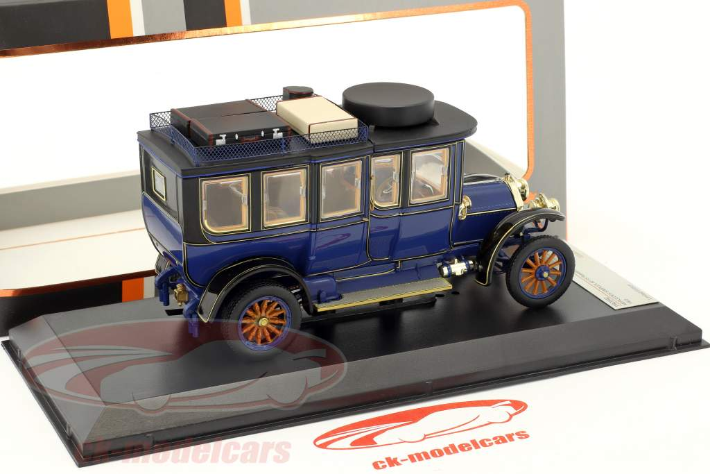Mercedes-Benz Simplex 60 PS macchina da turismo anno di costruzione 1903 blu 1:43 Premium X
