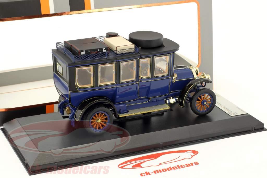 Mercedes-Benz Simplex 60 PS Reiselimousine Baujahr 1903 blau 1:43 Premium X