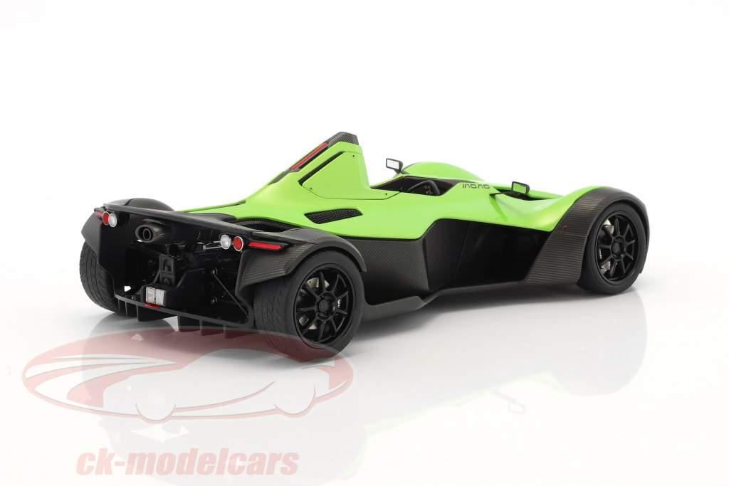 BAC Mono Roadster year 2011 green 1:18 AUTOart