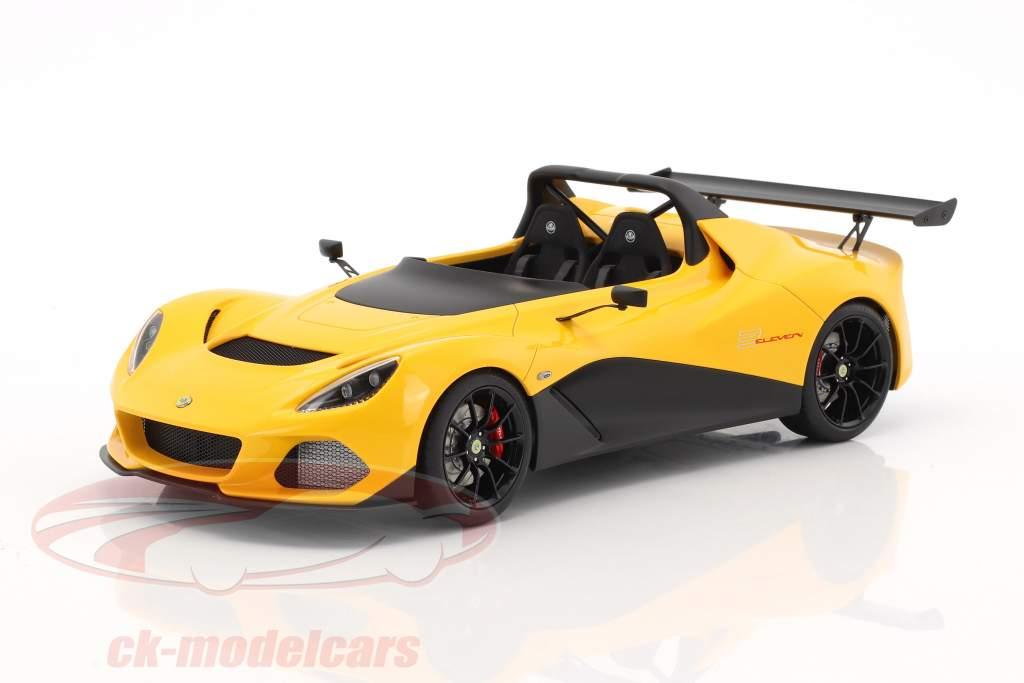 Lotus 3-Eleven année de construction 2017 jaune 1:18 AUTOart