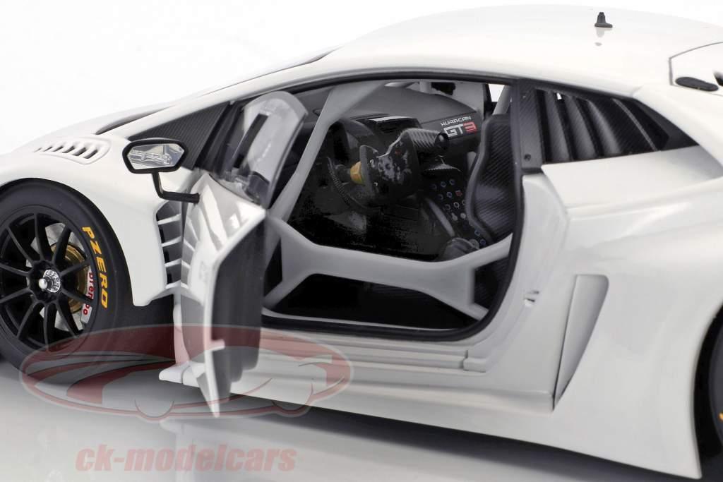 Lamborghini Huracan GT3 year 2015 white 1:18 AUTOart
