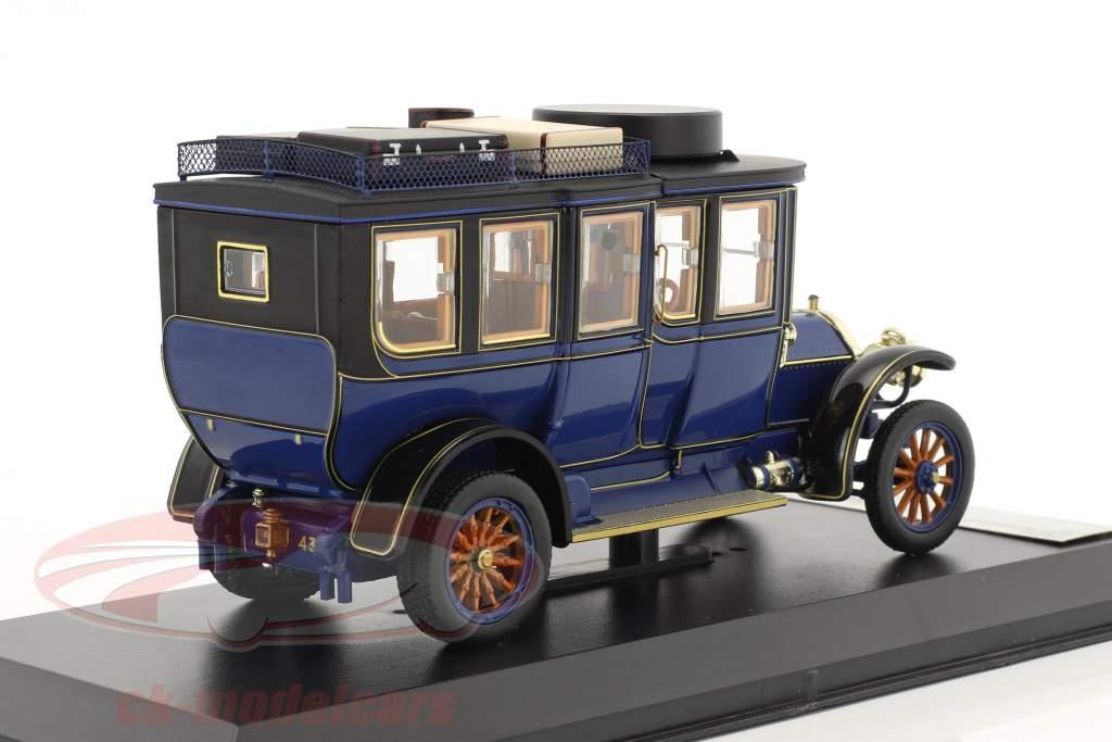 Mercedes-Benz Simplex 60 PS voiture de tourisme année de construction 1903 bleu 1:43 Premium X