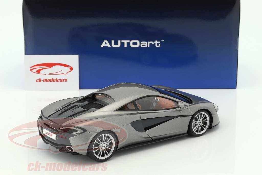 McLaren 570S Opførselsår 2016 sølv 1:18 AUTOart