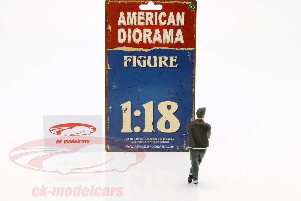 '50 stijl figuur I 1:18 American Diorama