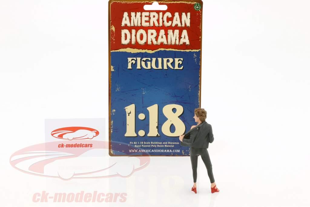 50s Style figuur II 1:18 American Diorama