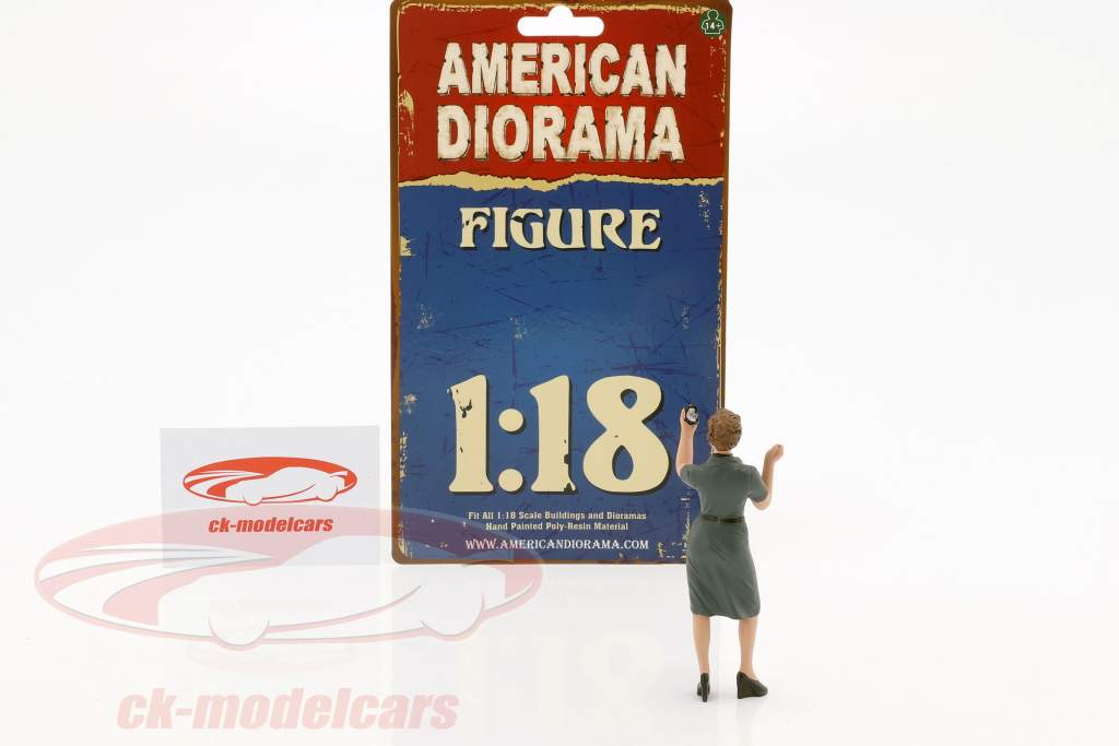 50s Style cifra IV 1:18 American Diorama