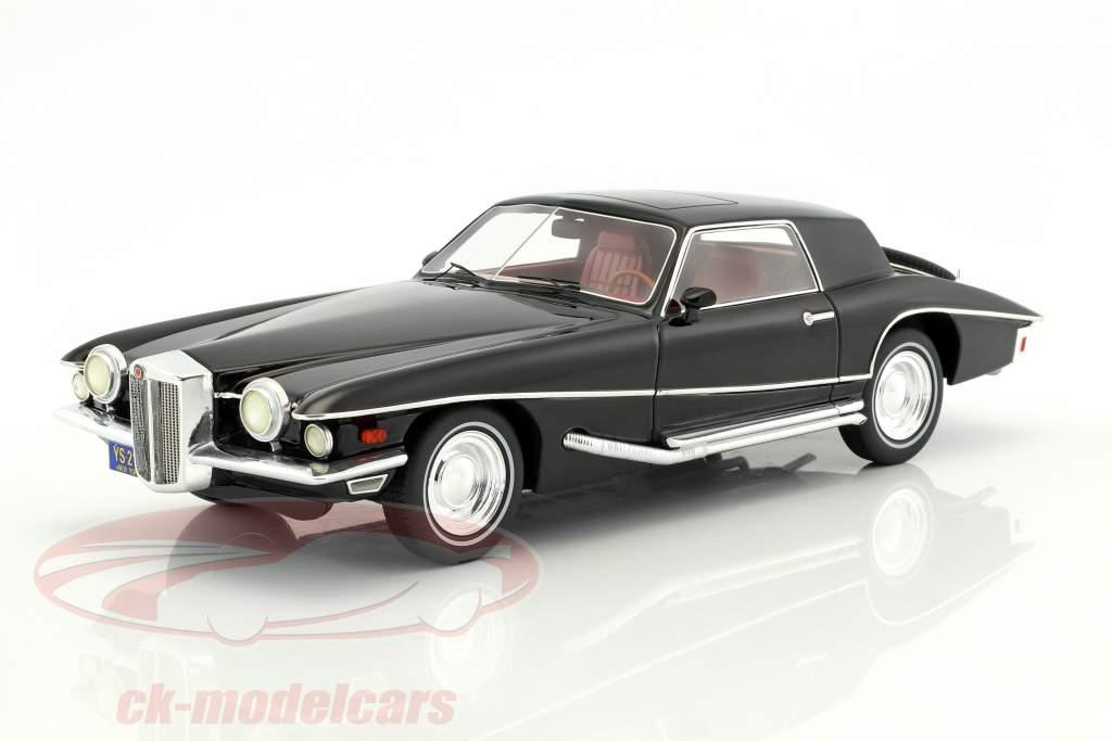 Stutz Blackhawk Coupe anno di costruzione 1971 nero 1:18 Premium X