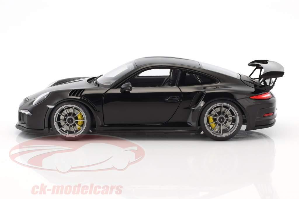 Porsche 911 (991) GT3 RS year 2016 black 1:18 AUTOart