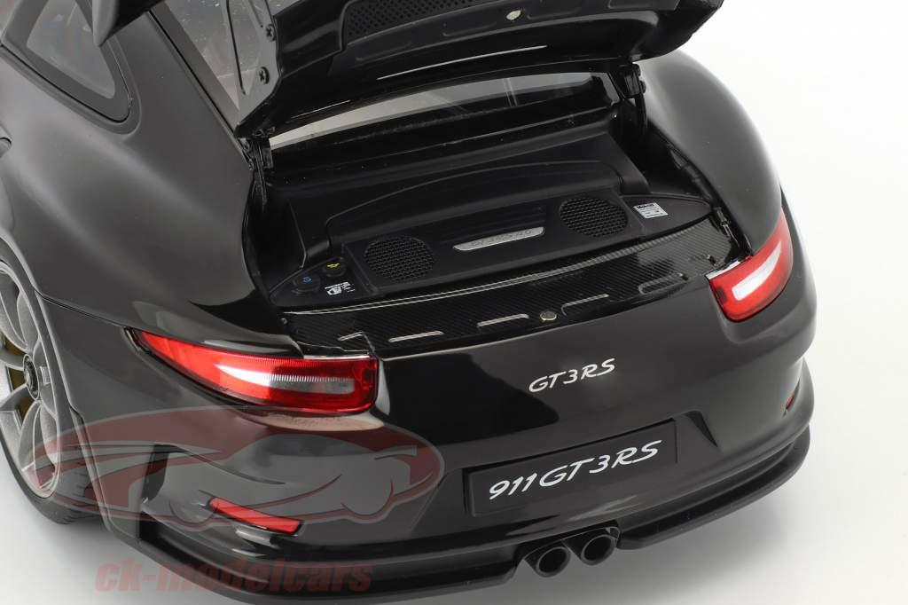 Porsche 911 (991) GT3 RS année de construction 2016 noir 1:18 AUTOart